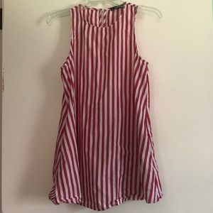 SheIn Striped Dress with Pockets Size Small